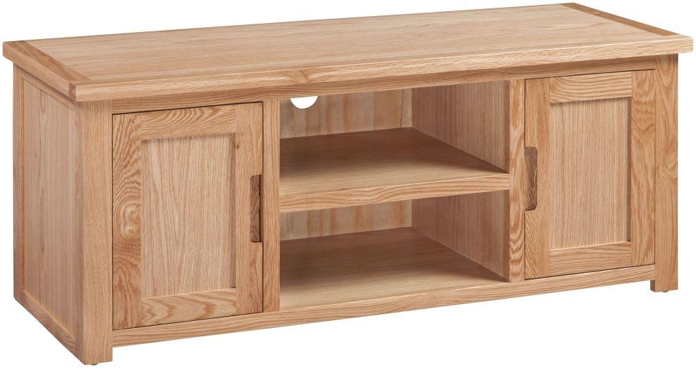Homestyle GB Moderna Oak Large TV Cabinet
