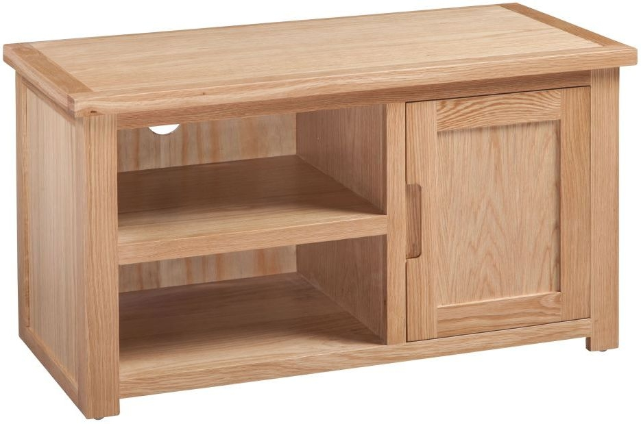Homestyle GB Moderna Oak 1 Door TV Cabinet