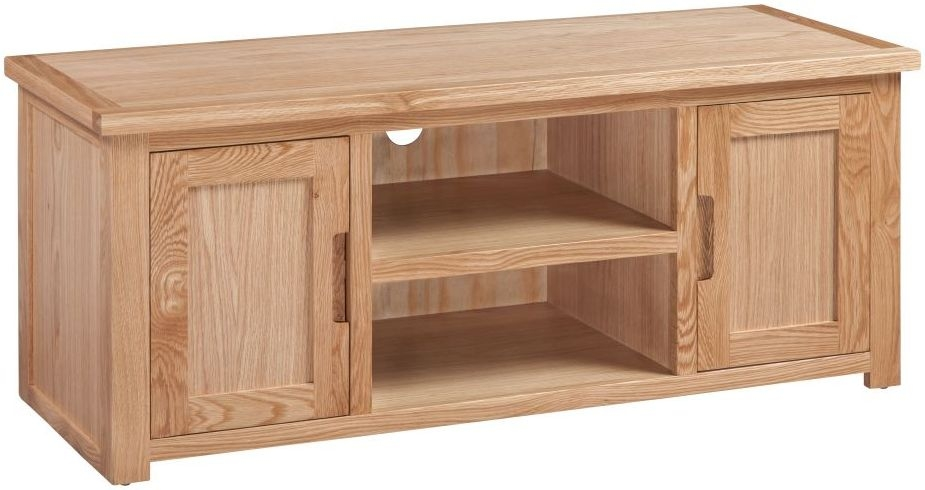Homestyle GB Moderna Oak 2 Door TV Cabinet