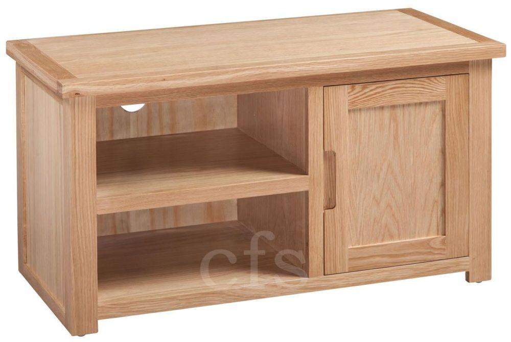 Homestyle GB Moderna Oak TV Cabinet