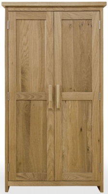 Homestyle GB Opus Oak CD and DVD Storage Cupboard