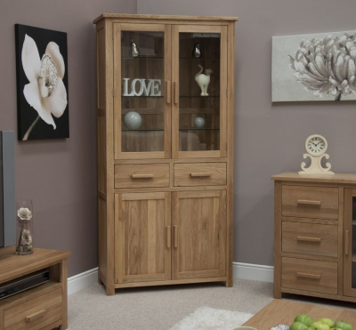Homestyle GB Opus Oak Library Unit
