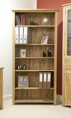 Homestyle GB Opus Oak Bookcase - Large
