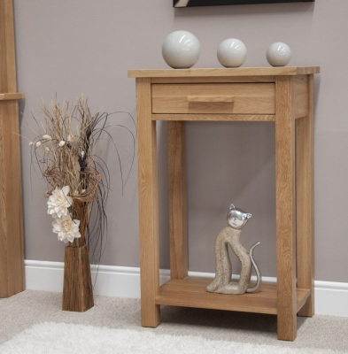 Homestyle GB Opus Oak Console Table - Small