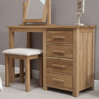 Homestyle GB Opus Oak Dressing Table and Stool