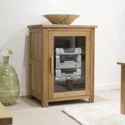 Homestyle GB Opus Oak Hi Fi Unit