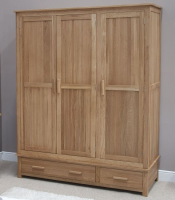 Homestyle GB Opus Oak Wardrobe - Triple