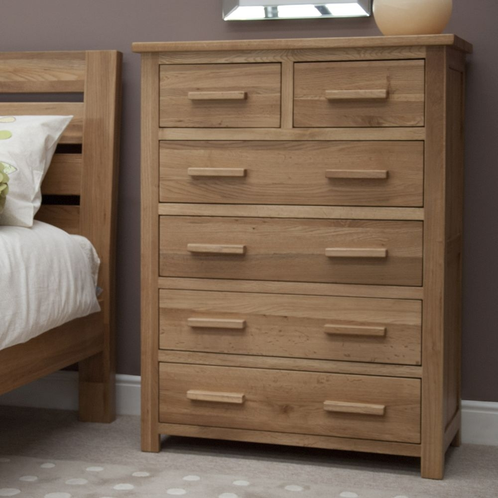 Homestyle GB Opus Oak 2+4 Drawer Chest