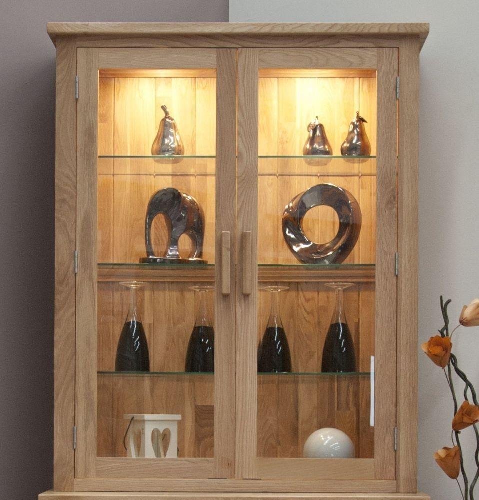 Homestyle GB Opus Oak 2 Door Sideboard Top