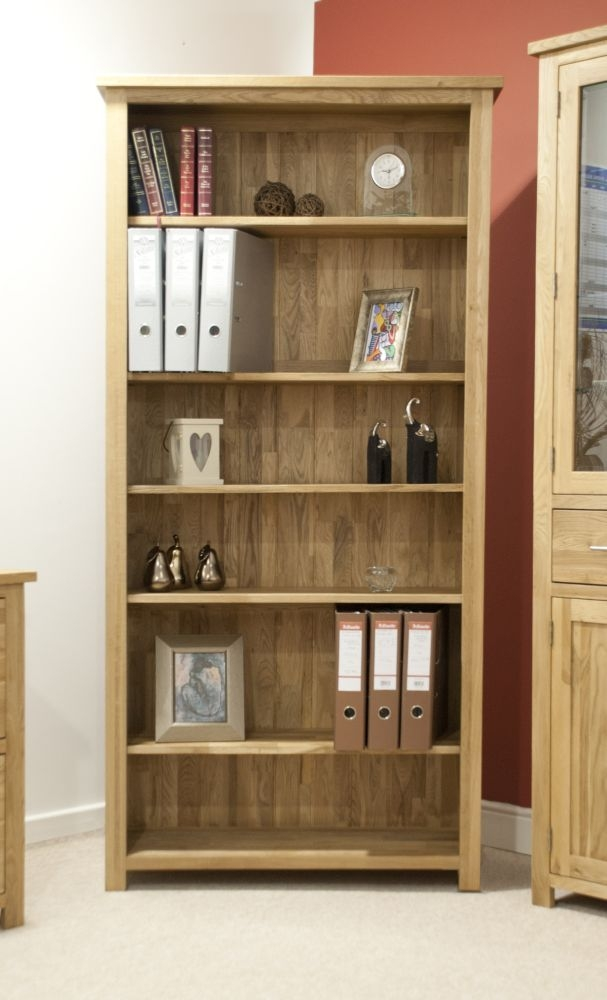 Homestyle GB Opus Oak Bookcase - Large