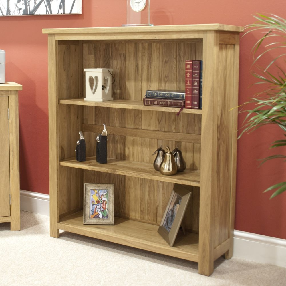 Homestyle GB Opus Oak Bookcase - Small