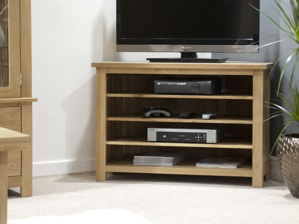 Homestyle GB Opus Oak Corner TV Unit