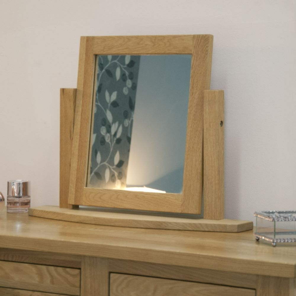 Homestyle GB Opus Oak Dressing Mirror