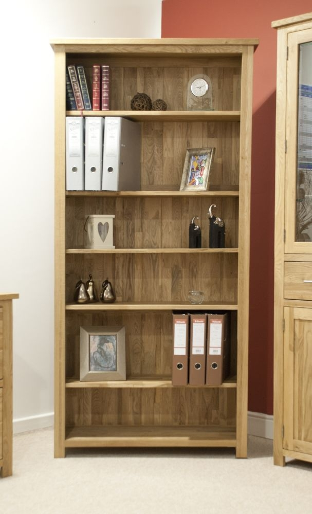 Homestyle GB Opus Oak Large Bookcase