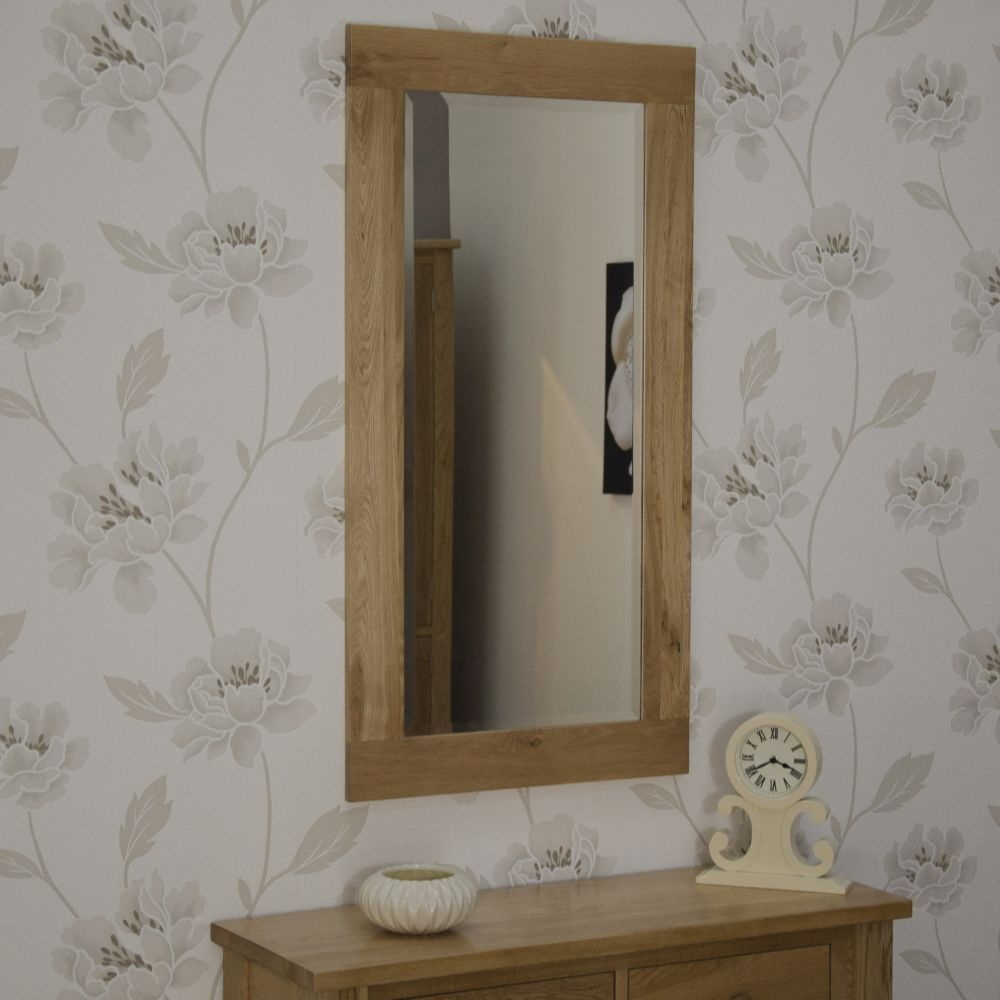 Homestyle GB Opus Oak Rectangular Large Wall Mirror