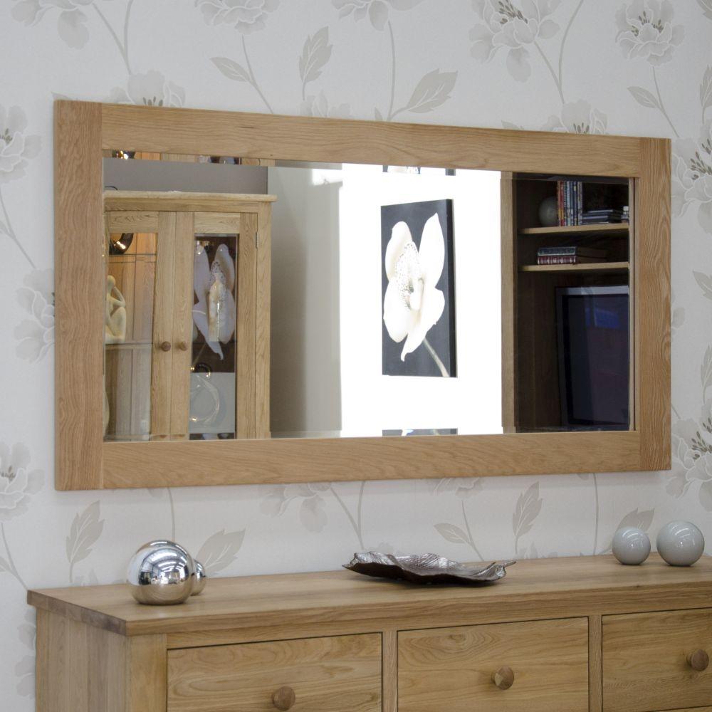 Homestyle GB Opus Oak Wall Mirror - 1150 x 600