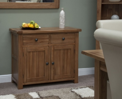 Homestyle GB Rustic Oak Small Sideboard