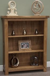 Homestyle GB Rustic Oak Bookcase - Small