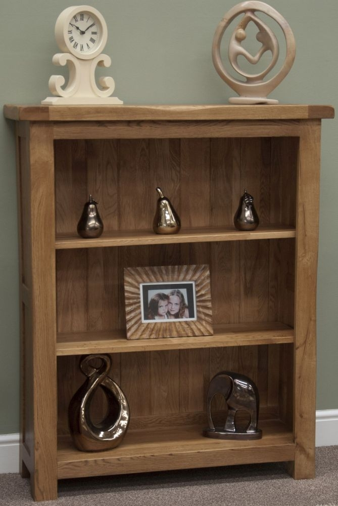 Homestyle GB Rustic Oak Bookcase - Small
