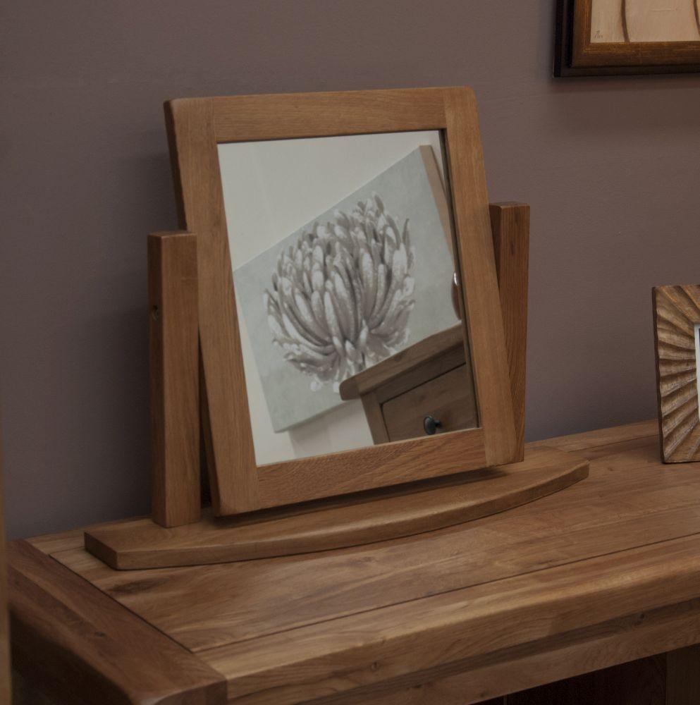 Homestyle GB Rustic Oak Dressing Mirror