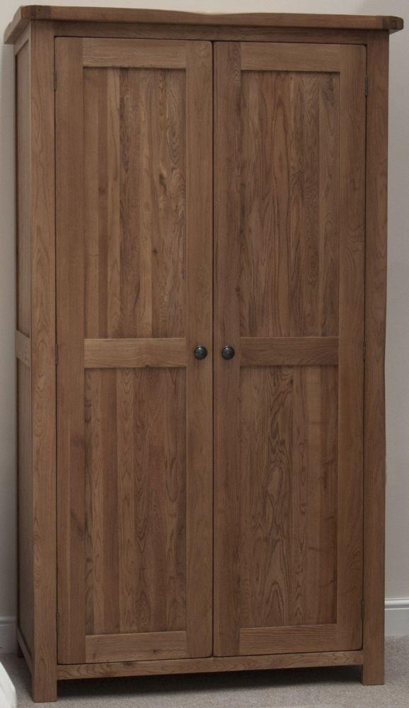 Homestyle Gb Rustic Oak Wardrobe Homestyle Gb Furniture