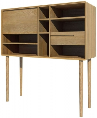 Homestyle GB Scandic Oak Large Unit