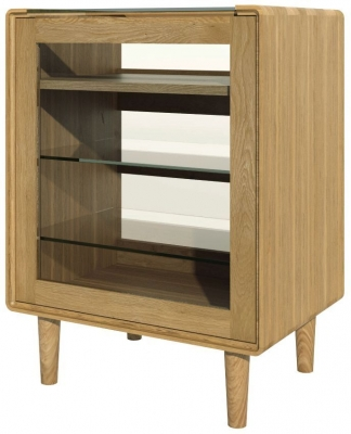 Homestyle GB Scandic Oak Hifi Unit