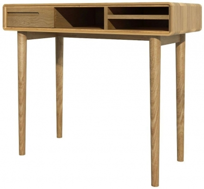 Homestyle GB Scandic Oak Small Computer Desk