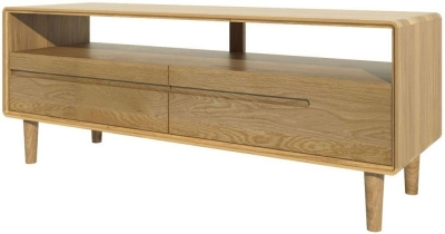 Homestyle GB Scandic Oak Medium TV Unit