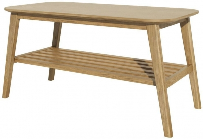 Homestyle GB Scandic Oak Large Coffee Table