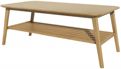 Homestyle GB Scandic Oak Small Coffee Table