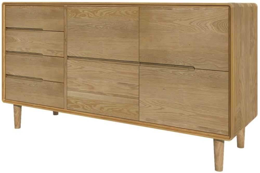 Homestyle GB Scandic Oak Large Sideboard