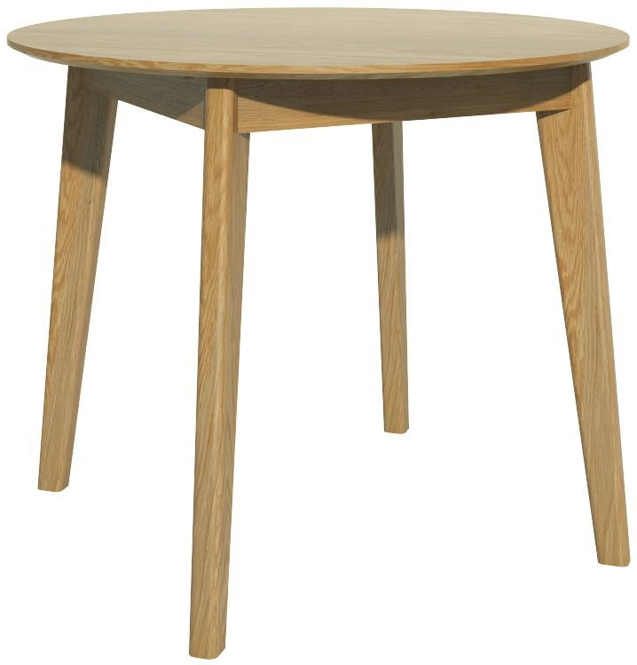 Homestyle GB Scandic Oak Round Dining Table
