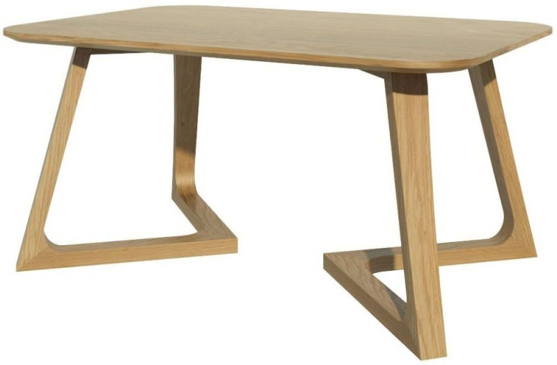 Homestyle GB Scandic V Oak Medium Lamp Table