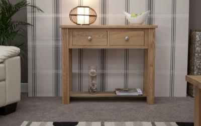 Homestyle GB Torino Oak Console Table