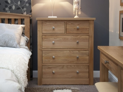Homestyle GB Torino Oak 3+2 Drawer Chest