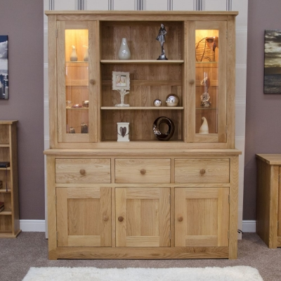 Homestyle GB Torino Oak Large Dresser