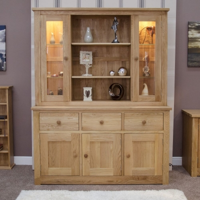 Homestyle GB Torino Oak Dresser - Large