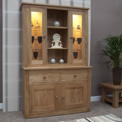 Homestyle GB Torino Oak Dresser - Medium
