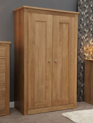 Homestyle GB Torino Oak Wardrobe - Double