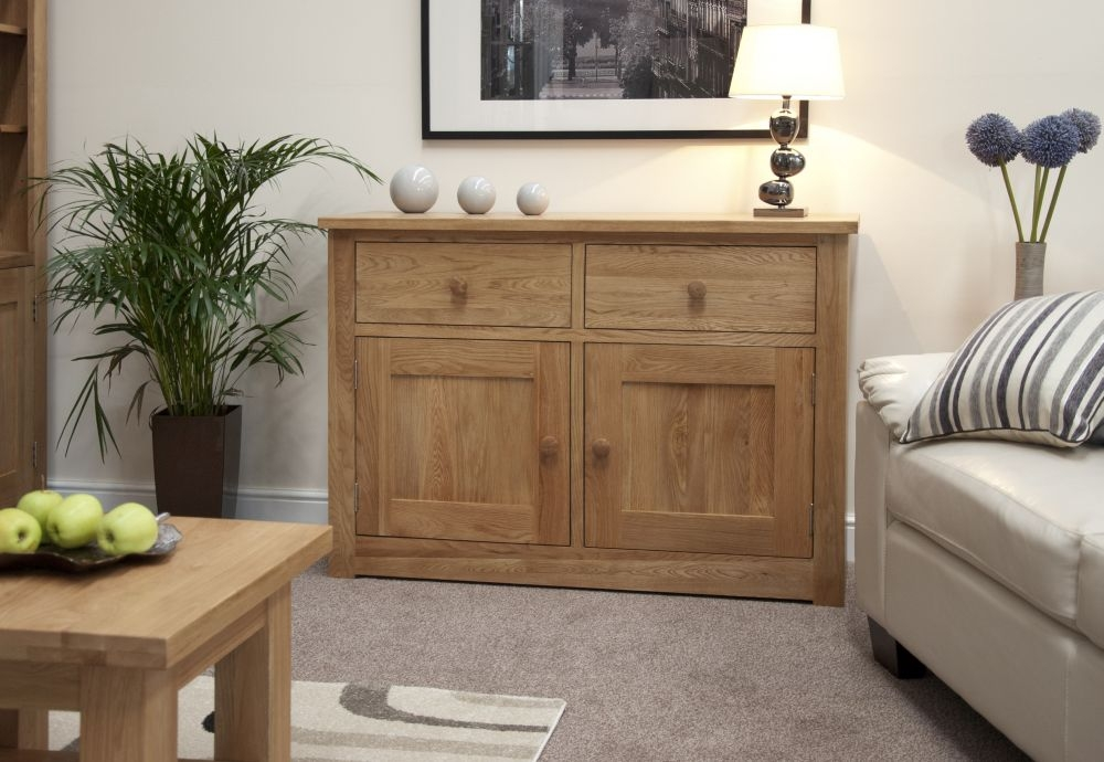 Homestyle GB Torino Oak Sideboard - Medium