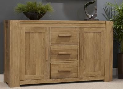 Homestyle GB Trend Oak Sideboard - Large