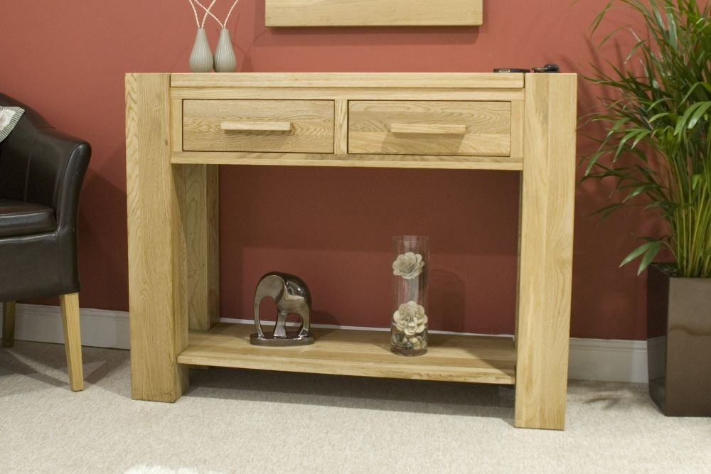 Homestyle GB Trend Oak Console Table