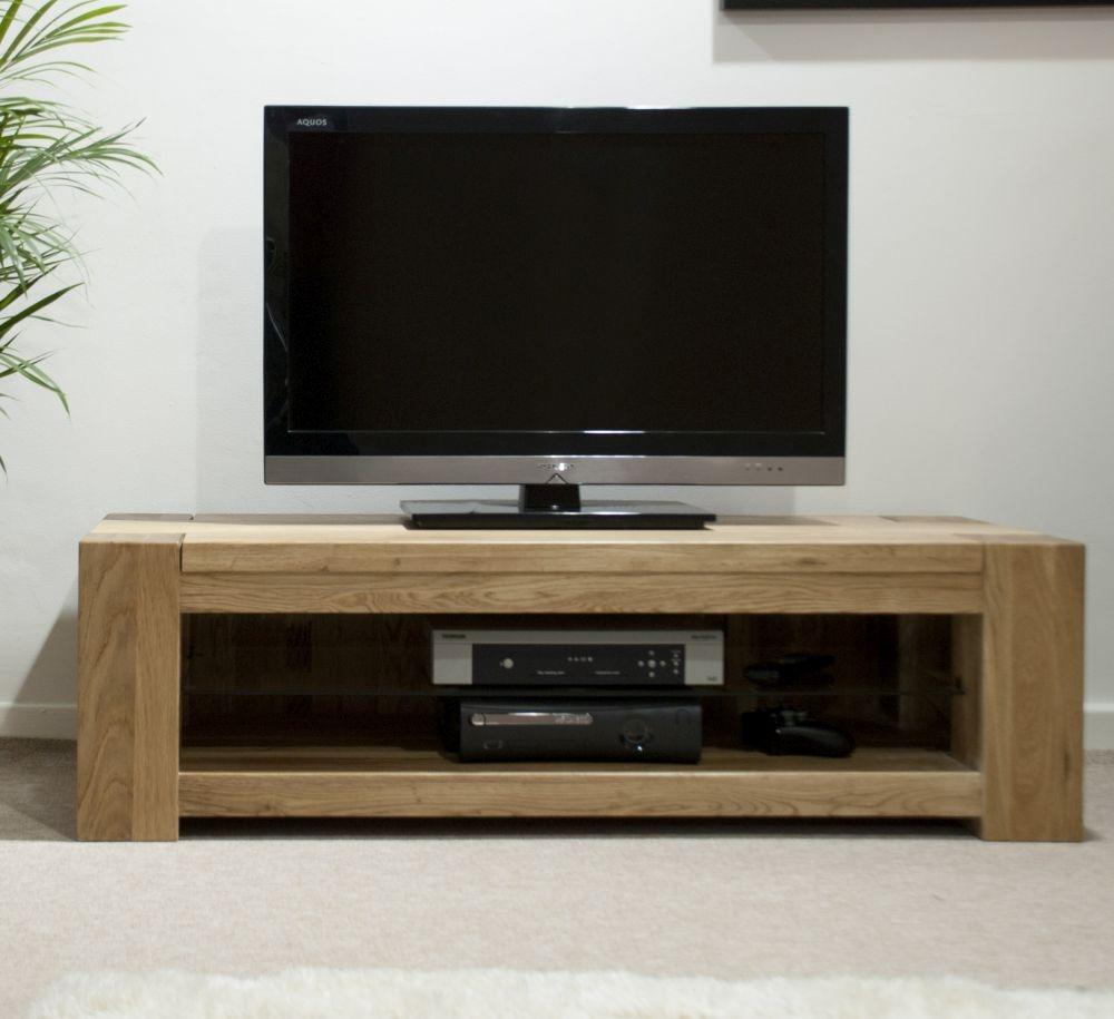 Homestyle GB Trend Oak Standard Plasma TV Unit