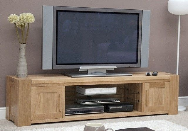Homestyle GB Trend Oak TV Plasma Unit - Large