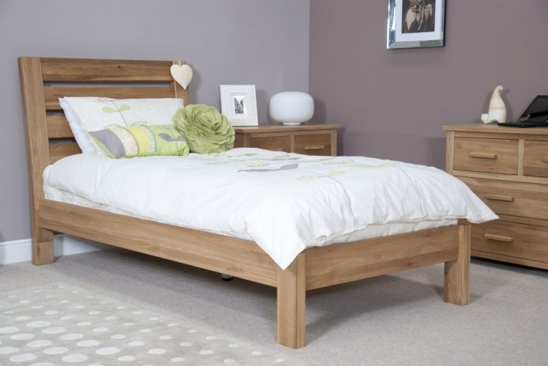 Homestyle GB Trend Oak Bed