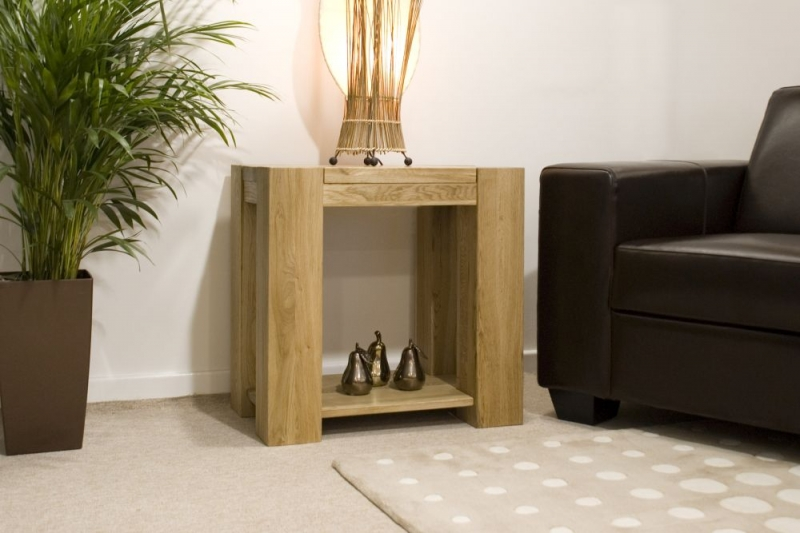 Homestyle GB Trend Oak Lamp Table