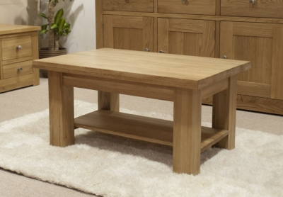 Homestyle GB Vermont Oak Medium Coffee Table