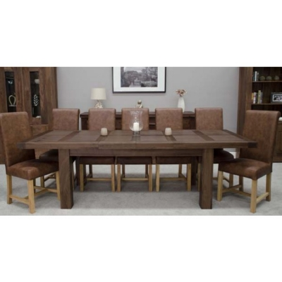 Homestyle GB Walnut Extending Dining Table
