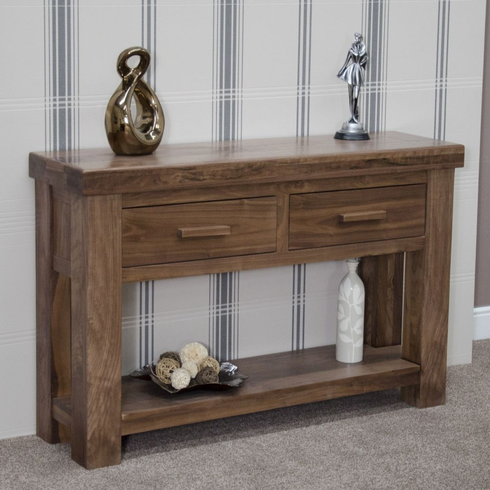 Homestyle GB Walnut Hall Table